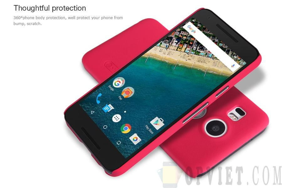 ốp lưng Google Nexus 5x Nillkin Frosted Shield