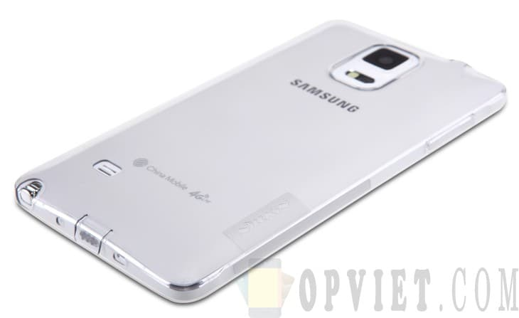 ốp dẻo samsung galaxy note 4 nillkin nature
