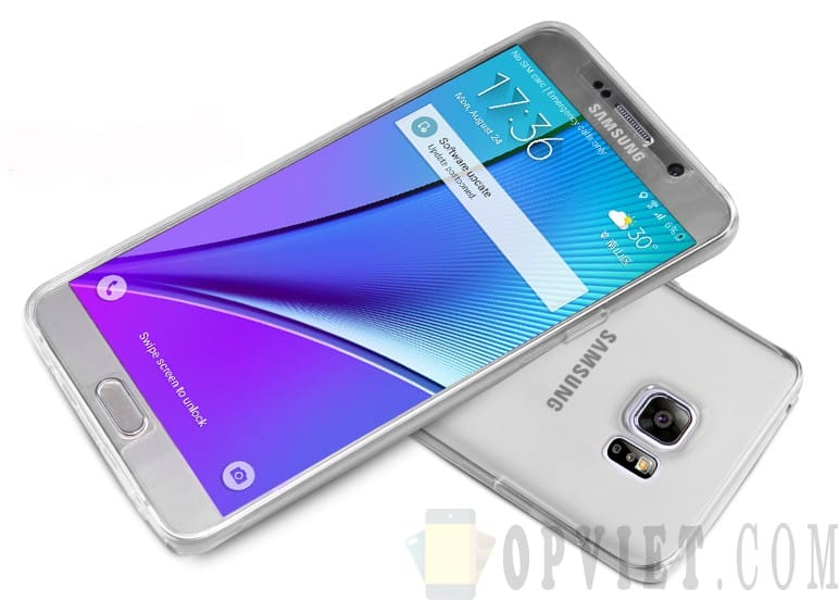 ốp dẻo samsung galaxy note 5 nillkin nature