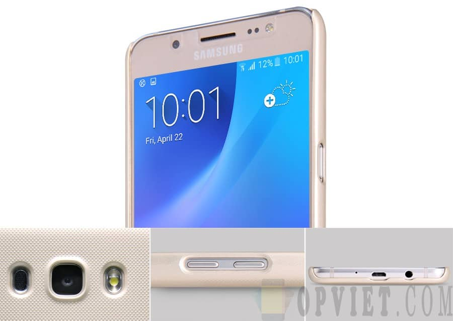 ốp lưng samsung galaxy j5 2016 nillkin frosted shield