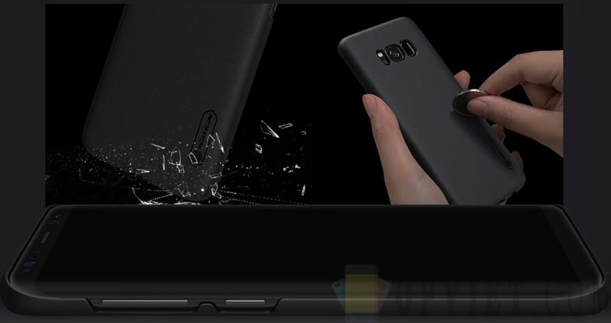 ốp lưng samsung galaxy s8 nillkin frosted shield
