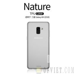ốp dẻo samsung galaxy a8 plus 2018 nillkin nature