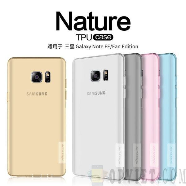 ốp dẻo samsung galaxy note 7 / note fe nillkin nature