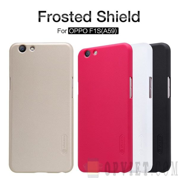 ốp lưng oppo f1s a59 nillkin frosted shield