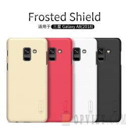 ốp lưng samsung galaxy a8 2018 nillkin frosted shield