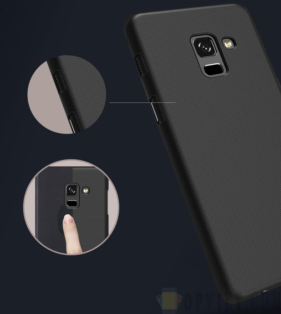 ốp lưng samsung galaxy a8 plus 2018 nillkin frosted shield