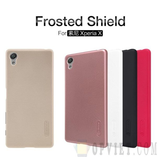 ốp lưng sony xperia x nillkin frosted shield