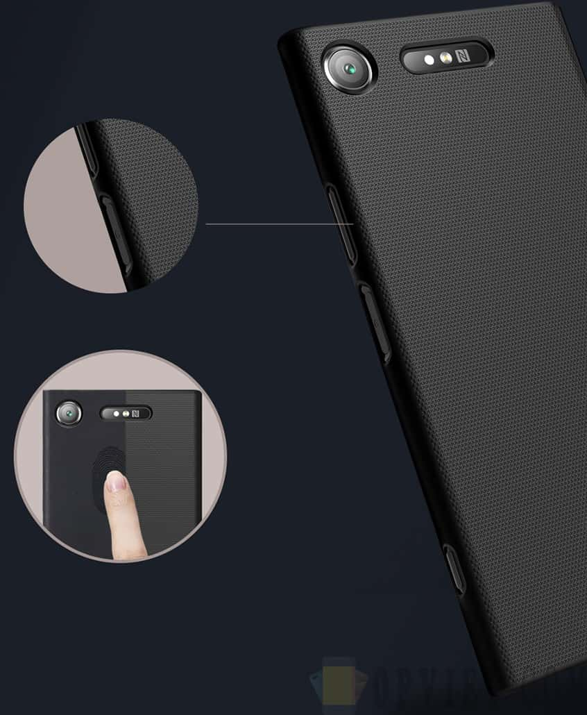 ốp lưng sony xperia xz1 nillkin frosted shield