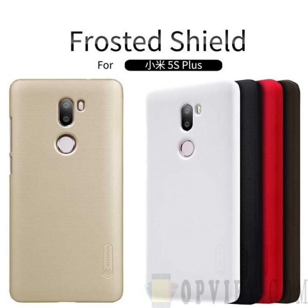 ốp lưng xiaomi mi 5s plus nillkin frosted shield