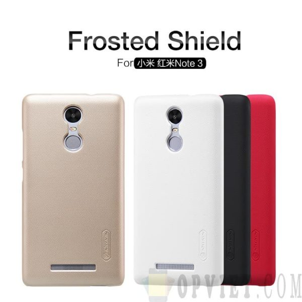 ốp lưng xiaomi redmi note 3 nillkin frosted shield
