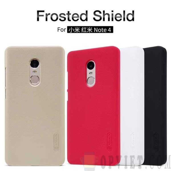 ốp lưng xiaomi redmi note 4 nillkin frosted shield