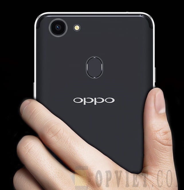 ốp dẻo oppo f5 trong suốt ismile
