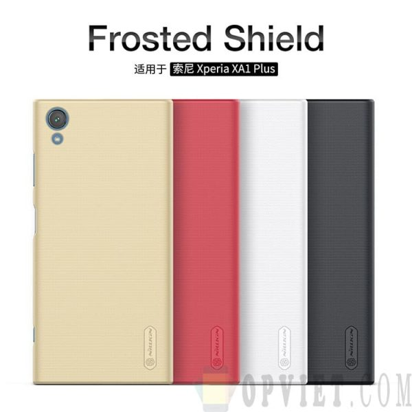 ốp lưng sony xperia xa1 plus nillkin frosted shield