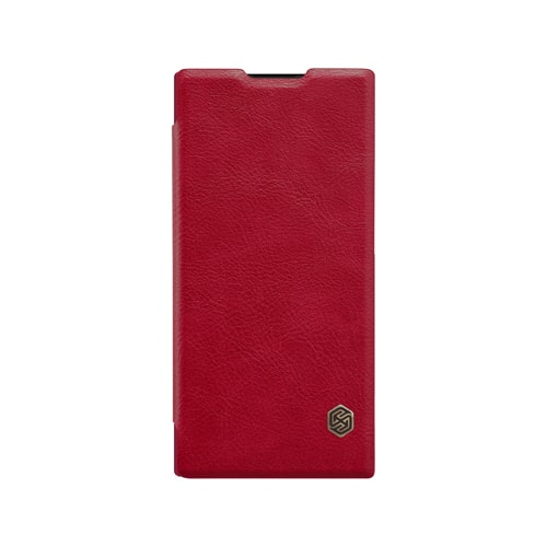 bao da sony xperia xa2 ultra nillkin qin leather