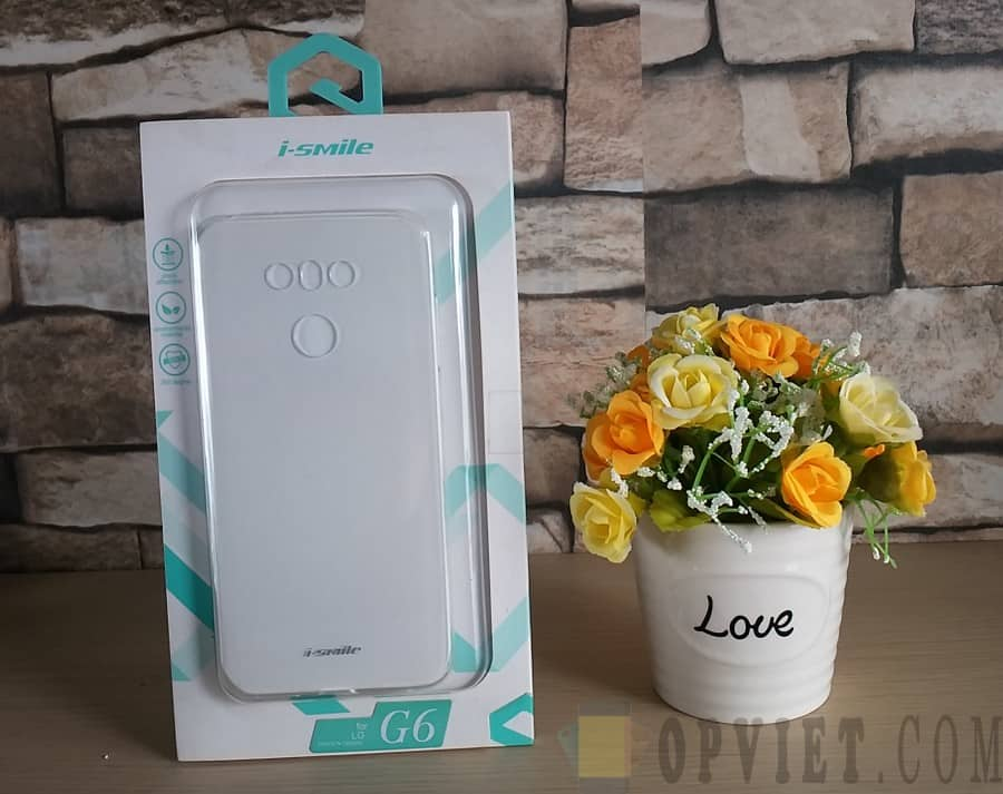 ốp dẻo lg g6 trong suốt ismile