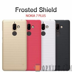 ốp lưng nokia 7 plus nillkin frosted shield