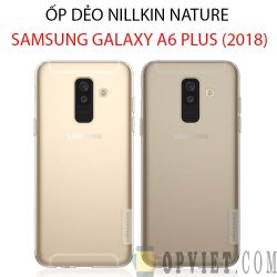 ốp dẻo samsung galaxy a6 plus 2018 nillkin nature
