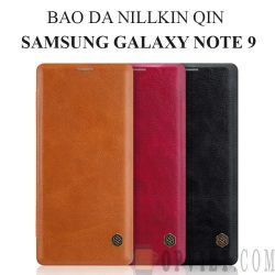 bao da samsung galaxy note 9 nillkin qin leather