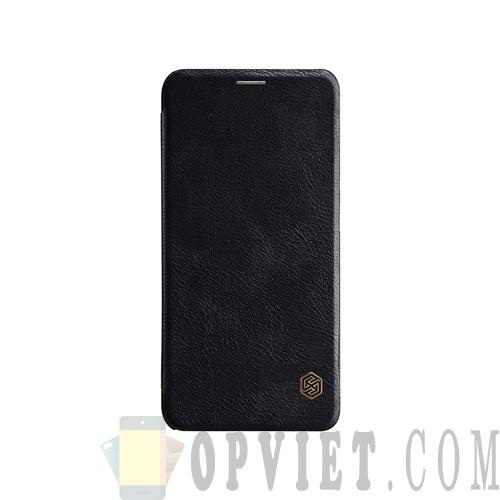 bao da xiaomi mi 8 nillkin qin leather