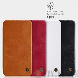 bao da iphone xr nillkin qin leather
