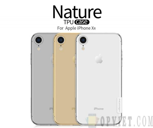 ốp dẻo iphone xr nillkin nature