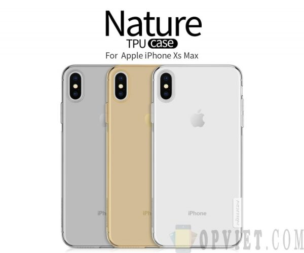 ốp dẻo iphone xs max nillkin nature