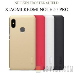 ốp lưng xiaomi redmi note 5 nillkin frosted shield