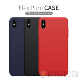 ốp lưng iphone xs max nillkin flex pure