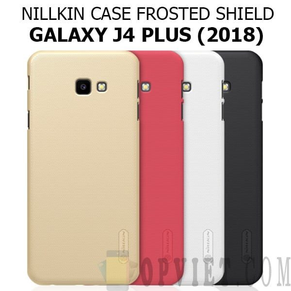ốp lưng samsung galaxy j4 plus nillkin frosted shield