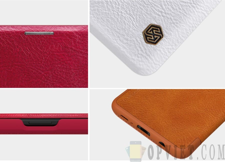 bao da samsung galaxy s10 plus qin leather