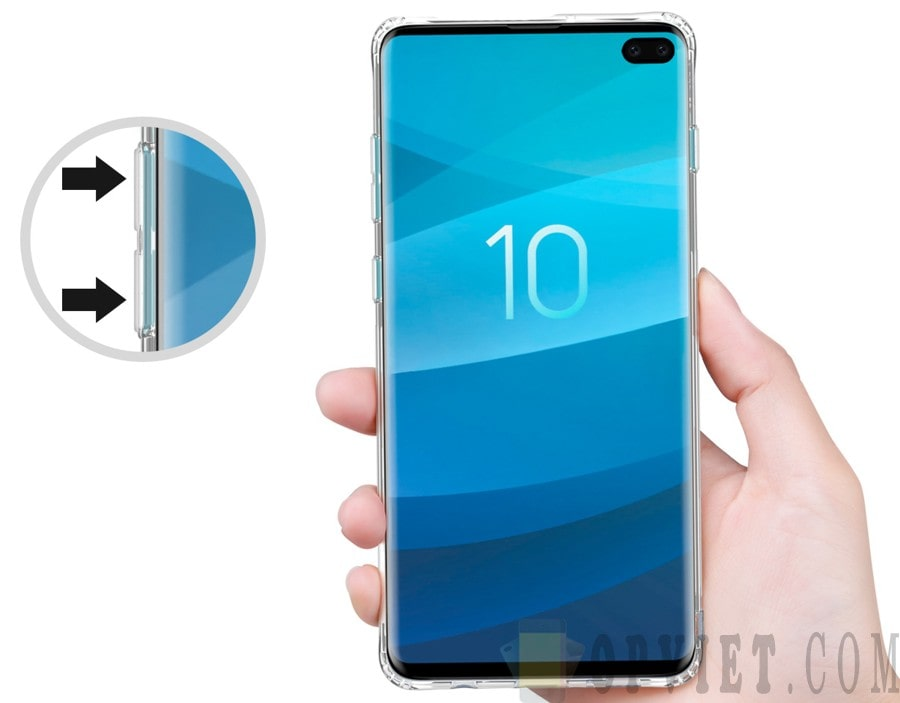 ốp dẻo samsung galaxy s10 plus nillkin nature