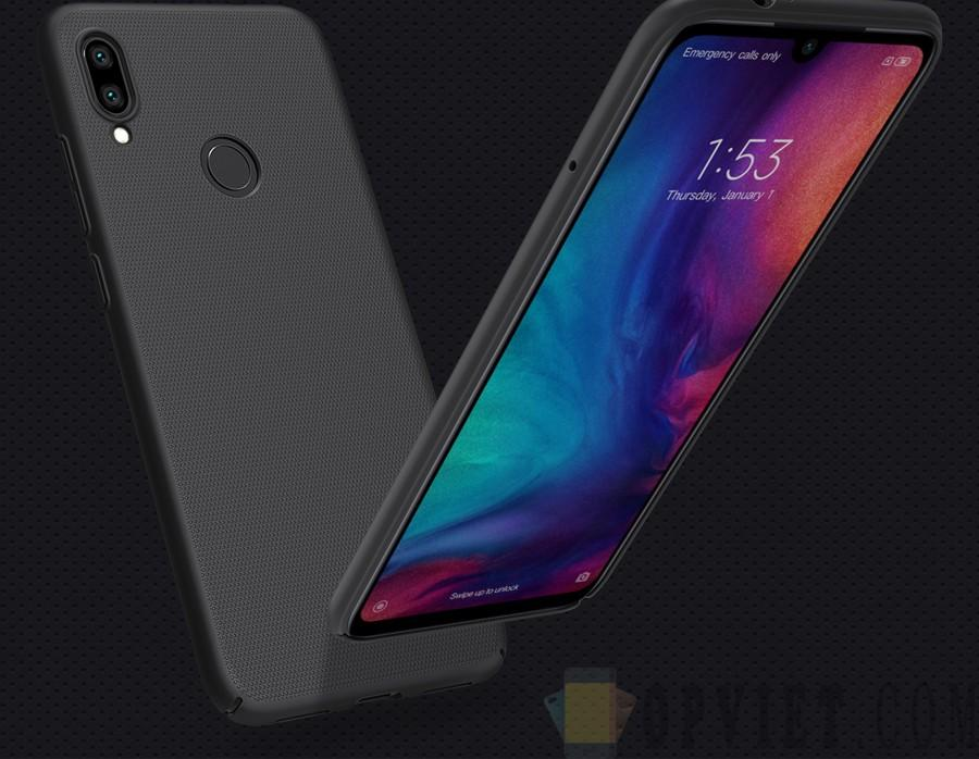 ốp lưng xiaomi redmi note 7 nillkin frosted shield